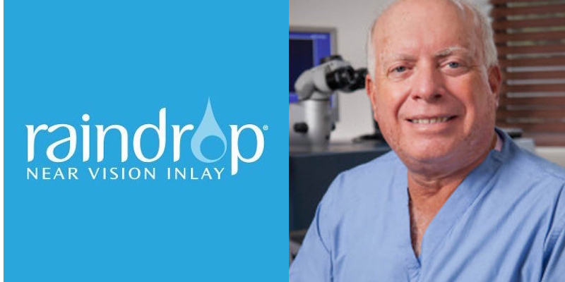 Raindrop Mark Whitten MD Treatment for Presbyopia