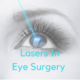Lasers used in ophthalmology