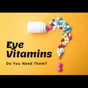 Text Article Image | Eye Vitamins